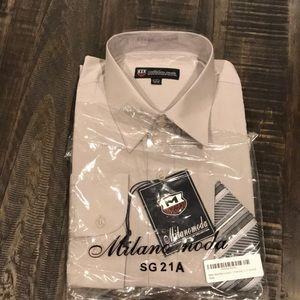 Milanomoda dress shirt. Brand new
